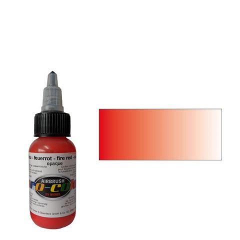 60005 Краска для аэрографии Pro-Color Fier Red (ОГНЕННО-КРАСНЫЙ) 30мл. укрывистый