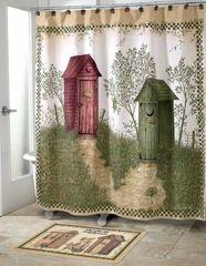 Шторка для ванной 178x183 Avanti Outhouses