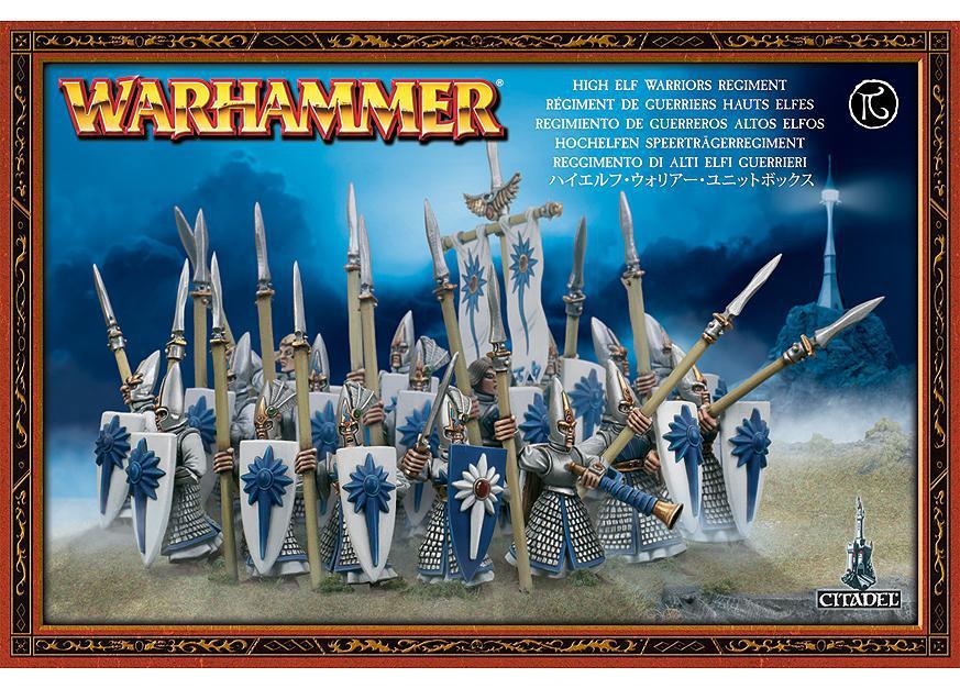 High Elf Warriors Regiment