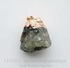 Подвеска Пренит с покрытием фольги (цвет - розовое золото) 30,9х26,5х19,7 мм №12