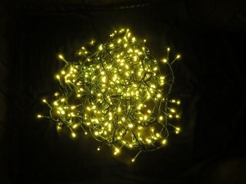 Светодиодная гирлянда Triumph Tree 370 ламп, теплый свет, 8 функций