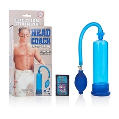 Мужская вакуумная помпа для члена Head Coach Penis Pump (5 х 19 см)