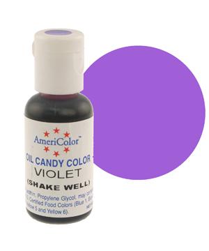 Краска для шоколада AmeriColor  VIOLET, 19 гр.