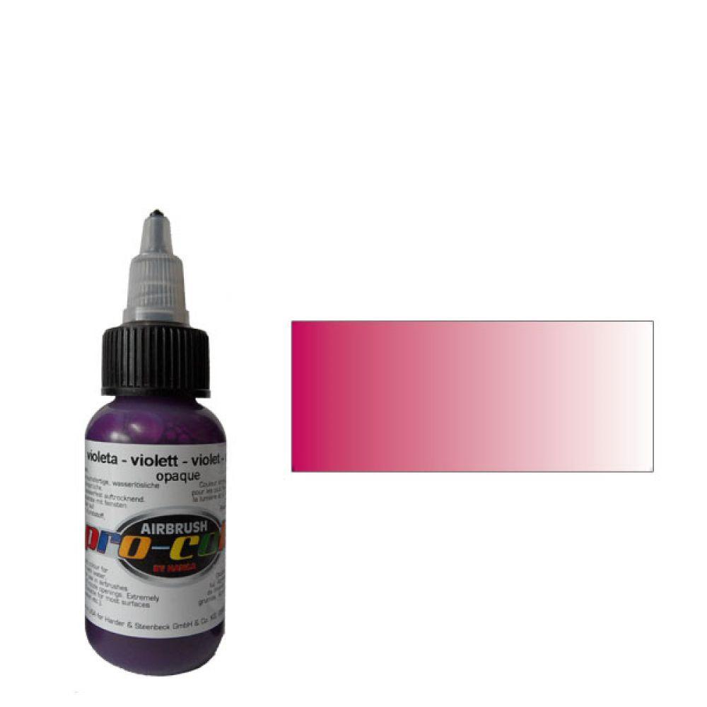 60012 Краска для аэрографии Pro-Color Violet (ФИОЛЕТОВЫЙ) 30мл. укрывистый