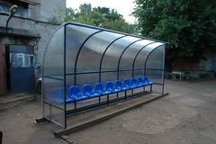 Скамья для запасных (на 10 мест)