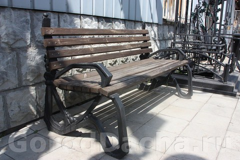 Скамейка чугунная литая «Модерн»
