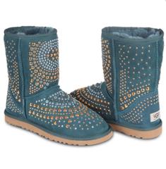 UGG & Jimmy Choo Snow Boots Mandah Pineneedle