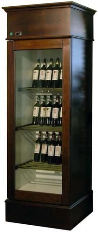 Винный шкаф MAPET RM 160 V (Ventilate) стекло в английском стиле