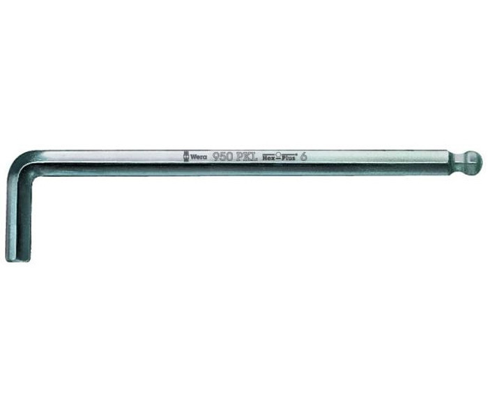 """Г-образный ключ 1/2"""" 950 PKL  Wera WE-022096"""