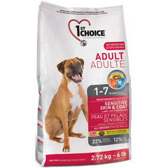1st Choice Adult Dog Sensitive Skin&Coat