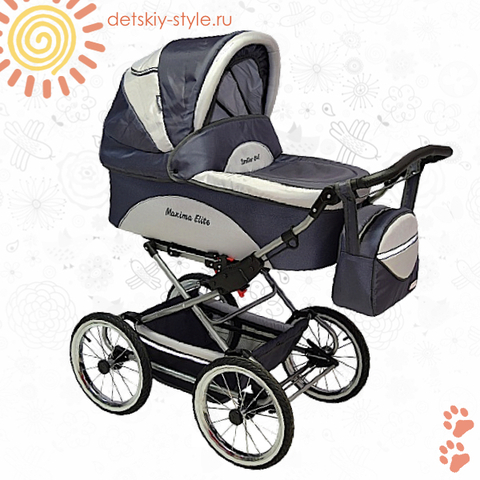 "Коляска Stroller B&E ""Maxima Elite XL"" 3в1"