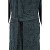 Элитный халат велюровый мужской 3807 антрацит от Cawo