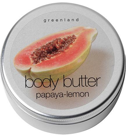 Крем для тела папайя-лимон, Greenland