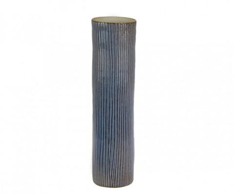 Элитная ваза декоративная Blue-and-White porcelain синяя средняя от S. Bernardo