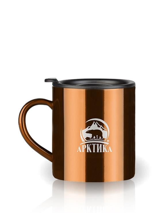 Термокружка Арктика (0,3 л.) кофейная