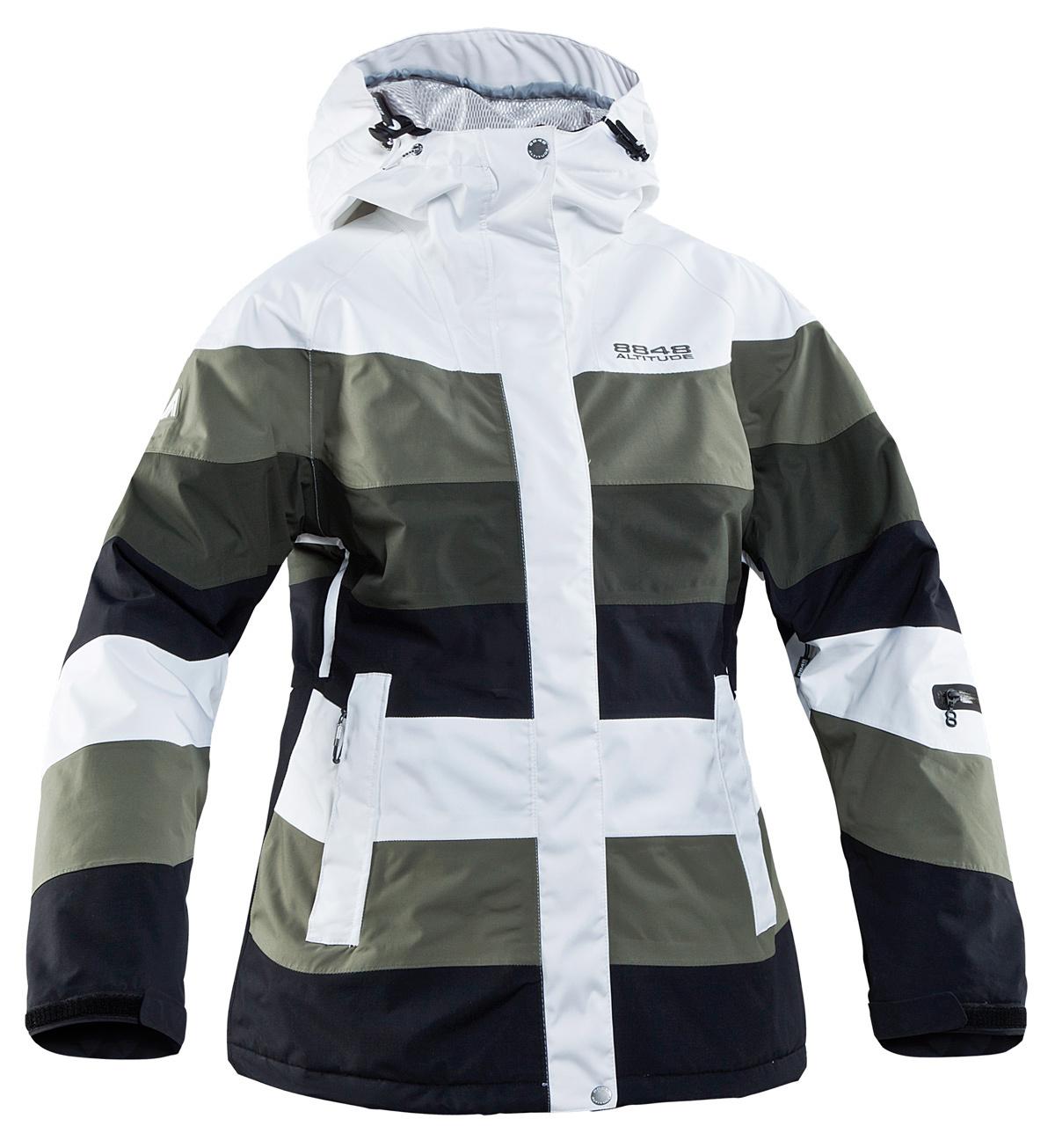 Горнолыжная куртка 8848 Altitude Sugar Army