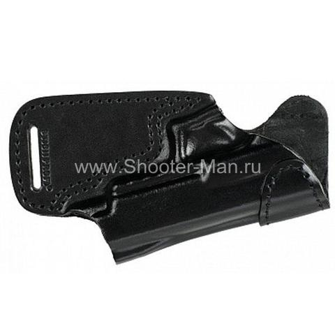 Кобура кожаная для пистолета Гроза - 05 поясная ( модель № 10 )