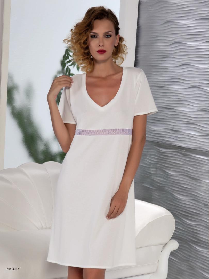 Легкая ночная сорочка B&B (Домашние платья и ночные сорочки)