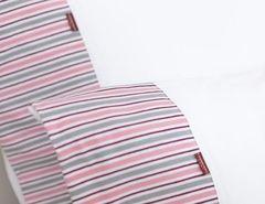 Постельное белье 1.5 спальное Luxberry Трикотаж Джерси розовое