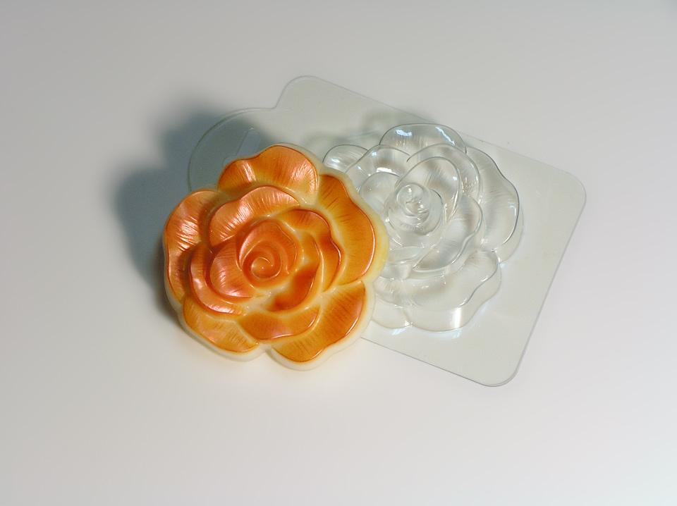 Дикая роза форма для мыла