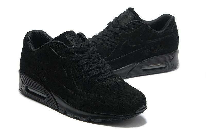 кроссовки найк чёрные фото мужские