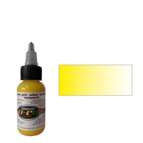 64070 Краска для аэрографии Pro-Color Yellow ЖЕЛТЫЙ 30мл. прозрачный