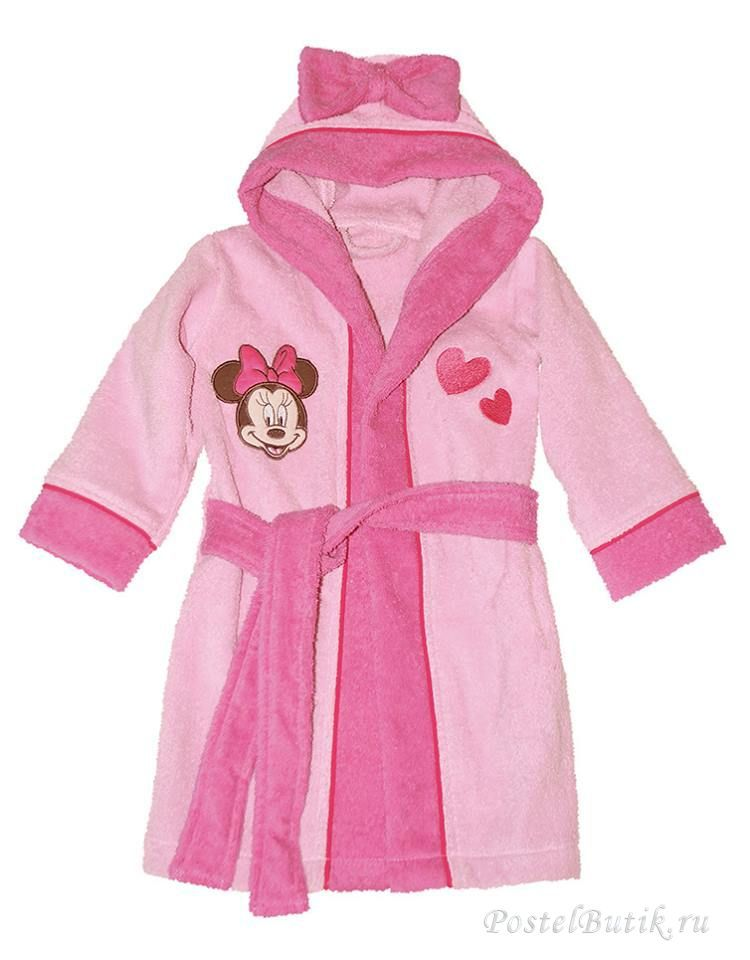 Халаты Халат детский махровый Caleffi Minnie Girl elitniy-halat-detskiy-minnie-girl-ot-caleffi-italiya.jpg