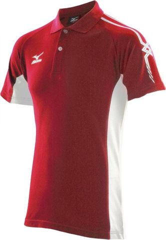 Поло Mizuno Team Polo 150 red