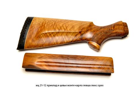 мц 21-12 приклад и цевье монте-карло левша люкс орех