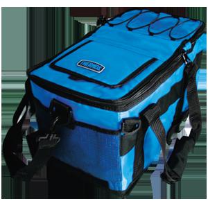 Сумка-холодильник (термосумка) Double Cooler, 9+18L (синяя)