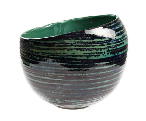 Элитная ваза декоративная Maelstrom круглая от S. Bernardo
