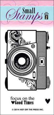 """Силиконовый штамп """"Camera"""""""