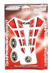 Наклейка на бак TankProtectionSystem PRO GRIP Yamaha R6 Red/White #13