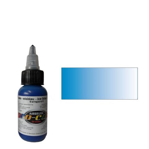 64073 Краска для аэрографии Pro-Color Ice Blue (СИНИЙ ЛЕД) 30мл. прозрачный
