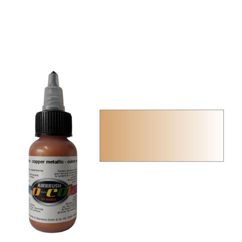 63063 Краска для аэрографии Pro-Color Copper Metallic (МЕДЬ) 30мл. металлик