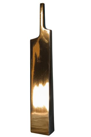 Элитная ваза декоративная Fine gold высокая от S. Bernardo