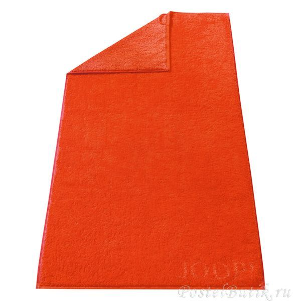 Полотенце 50x100 Cawo-JOOP! Classic Doubleface 1600 оранжевое