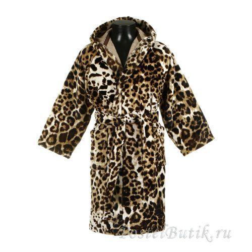 Детские халаты Детский велюровый халат Roberto Cavalli Bravo коричневый detskiy-veluroviy-halat-bravo-roberto-cavalli.jpg