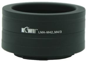 Переходное кольцо Kiwifotos LMA-M42 M4/3 для объектива M42