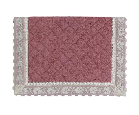 Элитный коврик для ванной Buratto розовый от Old Florence