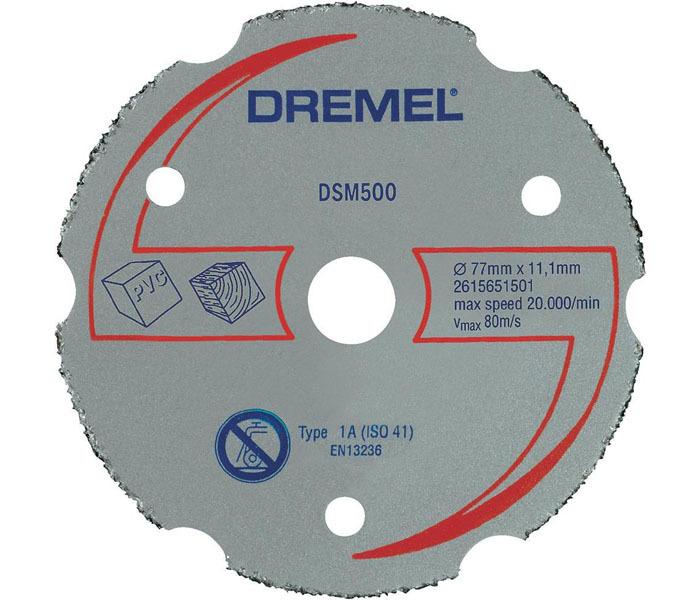 Карбидный отрезной диск для DSM20 Dremel 2615S500JA