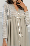 Халат-платье на пуговицах DolceVita