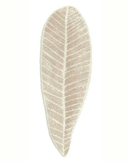 Элитный коврик для ванной Feuille 770 бежевый от Abyss & Habidecor