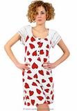 Платье с сердечками Pepita