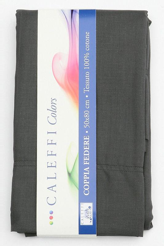 Для сна Наволочки 2шт 50х70 Caleffi Tinta Unita антрацит navolochki-unito-caleffi-italiya-antratsit.jpg