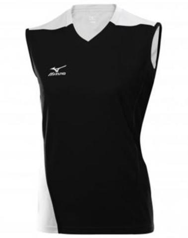 Футболка Mizuno W's Trade Sleeveless 361 black волейбольная