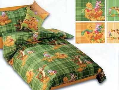 Детское постельное белье Caleffi Pooh Natura