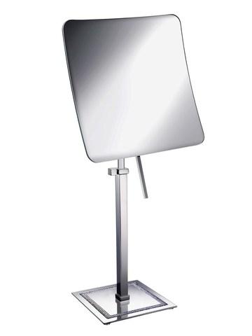 Элитное зеркало косметическое 99537CR 5X Shine Light Square от Windisch