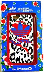 Чехол-накладка Adidas Jeremy Scott для iPhone 6 4,7 №2