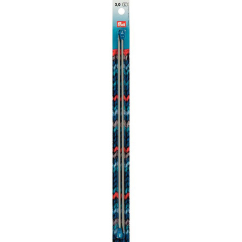 Спицы прямые 3мм/30см PRYM 191452